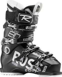 ROSSIGNOL Alias 80 All-Mountain Ski Boots Size 31.5 BLACK 104mm Wide Fit NEW