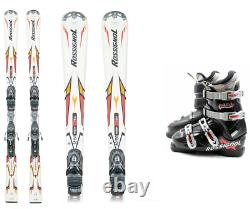 Rossignol Adult Ski Package Skis with bidings and Boots