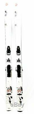 Rossignol Phantom SC97 White 186cm All-Mountain/Powder Alpine Skis With Bindings