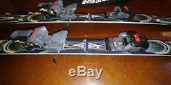 Rossignol Salto Skis With Bindings Marker M31 Size 170 Cm All Mountain Downhill