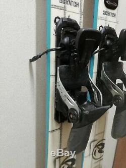 Rossignol Scratch Sprayer 171 cm Ski + Rossignol Axial 100 Bindings Winter Sport