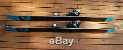 Rossignol Squad 7 190 Powder All Mountain Skis with Look XM16 Touring Bindings