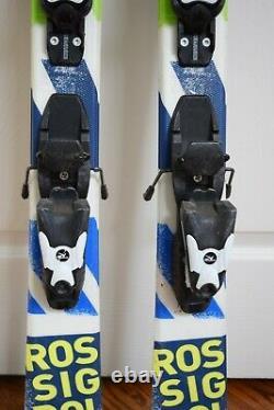 Rossignol Terrain Skis Size 116 CM With Rossignol Bindings