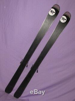 Rossignol VooDoo SC 80 women's all mountain skis 155cm with Rossignol 110 binding
