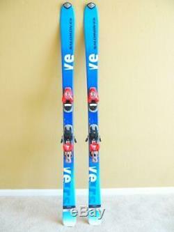 SALOMON VERSE 7 VERSE7 All Mountain Skis 160cm with SALOMON C610 Bindings