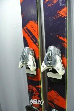 SKIS All Mountain-ATOMIC THEORY-186cm WITH ROCKER! GOOD SKIS