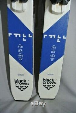 SKIS All Mountain- BLACK CROWS BC85- 162cm