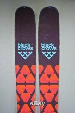SKIS All Mountain- BLACK CROWS CAMOX with MARKER GRIFFON bindings-186cm 2017