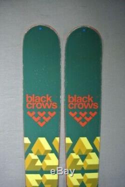 SKIS All Mountain-BLACK CROWS CAPTIS- Marker bindings -171cm 2017