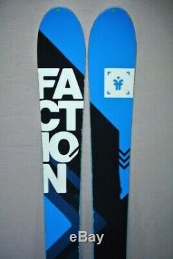 SKIS All Mountain FACTION AGENT 90- with Marker GRIFFON bindings 174cm