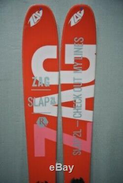 SKIS All Mountain/ Freeride ultralight skis -ZAG SLAP 2L 162cm 2016/17