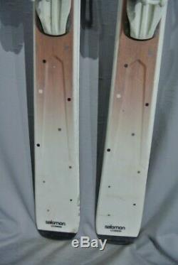 SKIS All Mountain-Salomon ORIGINS BAMBOO- 167cm Lovely skis for LADIES