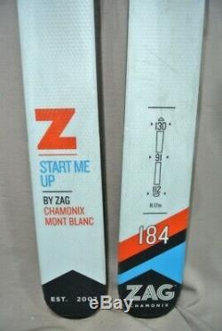 SKIS Freeride/ All Mountain ZAG Z -184cm
