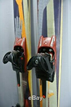SKIS Touring/All Mountain- Scott MISSION with DIAMIR bindings 183cm