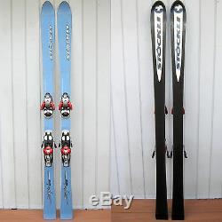 STOCKLI Spirit ALL MOUNTAIN 156cm CARVING Snow SKIS with SALOMON S810 Ti BINDING