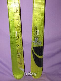 Salomon 1080 TENEIGHTY Spaceframe all mountain twin tip skis 161cm no bindings