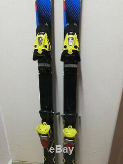 Salomon GS X Race 173 cm Ski + Fischer RC4 13 Bindings Winter Sports Fun Snow