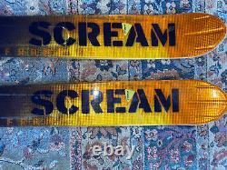 Salomon Scream AK Rocket Skis big mountain 195 cm with