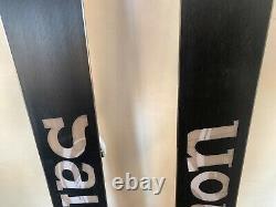 Salomon Shogun 191 Skis with Sth 14 used TWICE