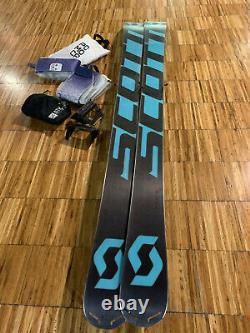 Ski Scott Scrabber 95 W`s 160cm mit Bindung ATK R12 2.0 & Steigfelle gebraucht