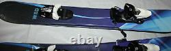Skiboards Ski boards special 100cm with Tyrolia Bindings fit 27-28 sizes New