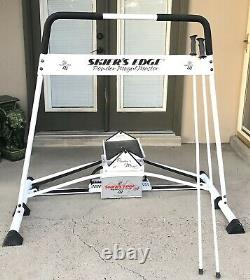 Skiers Edge S4 Black Diamond All Mountain Fitness Balance Ski Trainer Machine
