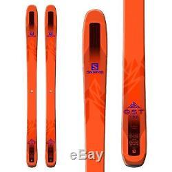 Skiing all Mountain Ski Super Light Salomon Qst 106 Freeride all Mountain