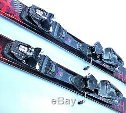 Twin Tip PRIMAL Red 160cm Skis New All Mountain & Carving with Used Bindings