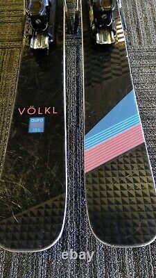 VOLKL AURA FREERIDE ALL MOUNTAIN, 156CM WithSALOMON Z12 ADJUSTABLE BINDINGS
