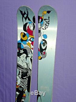 VOLKL AURA Women's 170cm All-Mountain Powder SKIS with Marker Griffon Bindings