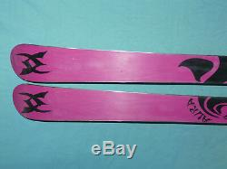 Volkl AURA 163cm Women's All-Mountain Powder Skis Full Camber with no bindings