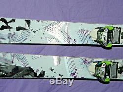 Volkl KENJA Women's All-Mountain Skis 156cm Camber with Marker Squire Bindings