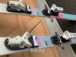 Volkl Kenja 156 Women's Skis with Knee Bindings (Used Once)
