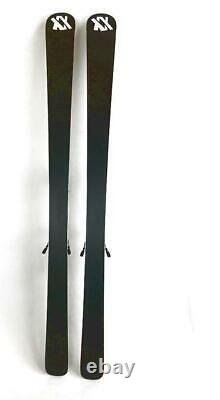 Volkl Kenja Womens Silver 163 cm All-Mountain Alpine Skis With Bindings