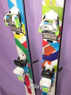 Volkl Ledge all mountain freestyle skis 155cm with Marker Squire ski bindings