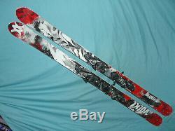 Volkl MANTRA 170cm All-Mountain Skis Full CAMBER with Salomon Z12 DEMO Bindings