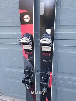 Volkl Mantra 177 skis + Marker Griffon bindings 100 underfoot all mountain 2017