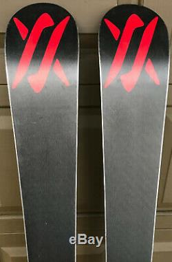 Volkl Mantra All-Mountain Twin Skis 170 cm 2010 Marker Jester Bindings DIN 6-16
