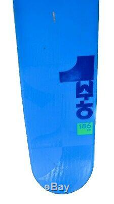 Volkl One Blue 183 cm All-Mountain/Powder Alpine Skis Marker Bindings