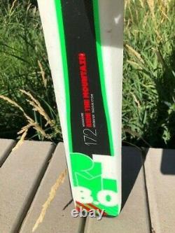 Volkl RTM 8.0 Demo Skis with Bindings for Intermediates or Beginners