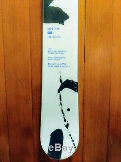 Völkl Revolt 95 165cm 2020 model skis unisex freestyle, all-mountain