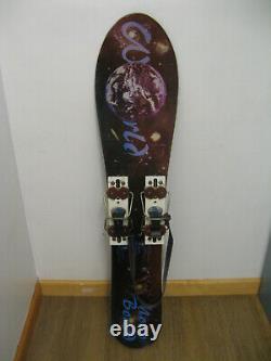World Monoboard 115 cm Aspen Colorado with LOFO Non-Release Bindings